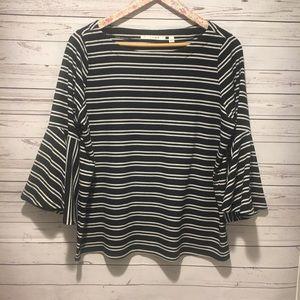 *SALE* Cyrus Black + White Stripe Knit Top